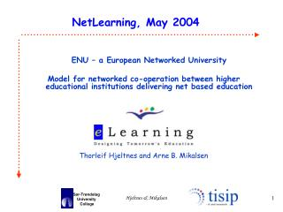 ENU – a European Networked University