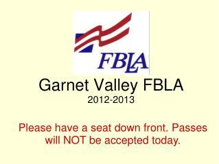 Garnet Valley FBLA