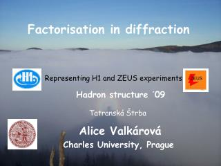 Factorisation in diffraction