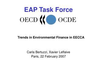 Trends  in Environmental Finance in EECCA