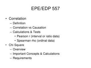 EPE/EDP 557