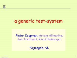 a generic test-system