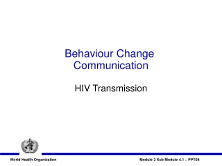 Oral Sex and HIV Transmission