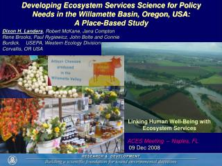Linking Human Well-Being with Ecosystem Services