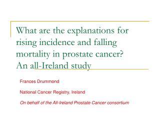 Frances Drummond National Cancer Registry, Ireland