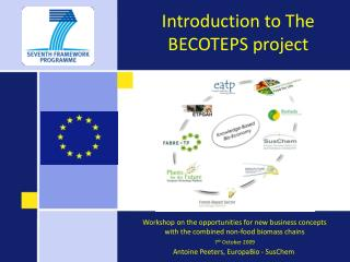 Introduction to The BECOTEPS project