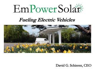 Fueling Electric Vehicles