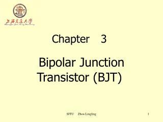 Chapter3 Bipolar Junction Transistor (BJT)