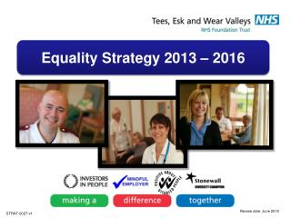 Equality Strategy 2013 – 2016