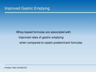 Gastrostomy and  Reflux -