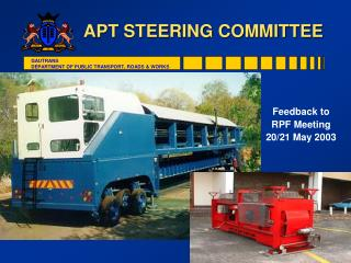 APT STEERING COMMITTEE