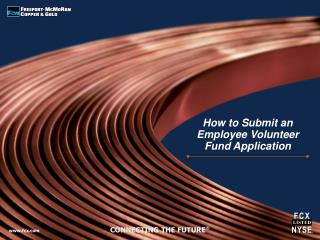 How to Submit an Employee Volunteer Fund Application