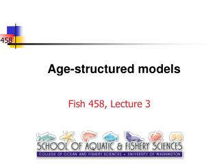 Age-structured models