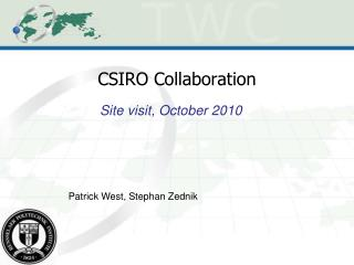 CSIRO Collaboration