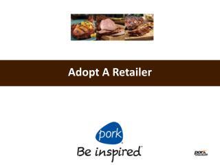 Adopt A Retailer