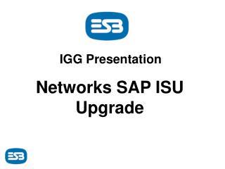 IGG Presentation