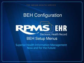 BEH Configuration