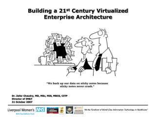 Building a 21 st  Century Virtualized Enterprise Architecture
