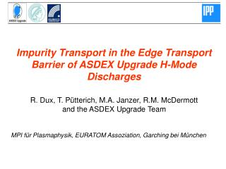 Impurity Transport in the Edge Transport Barrier of ASDEX Upgrade H-Mode Discharges