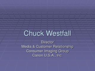 Chuck Westfall