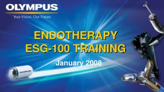 ENDOTHERAPY  ESG-100 TRAINING