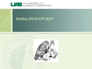 Peritus HYLD ETF-BUY