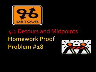 Homework Proof Problem #18