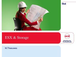 ESX & Storage