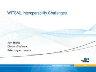 WITSML Interoperability Challenges