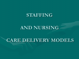 Evaluation of the Model of Nurse Case Management
