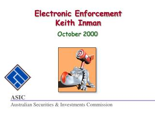Electronic Enforcement Keith Inman