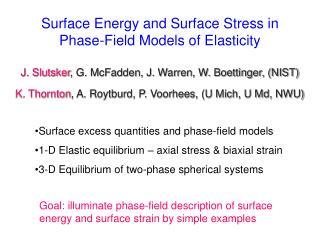Surface Energy and Surface Stress in Phase-Field Models of Elasticity