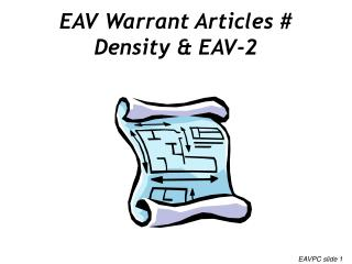 EAV Warrant Articles # Density & EAV-2