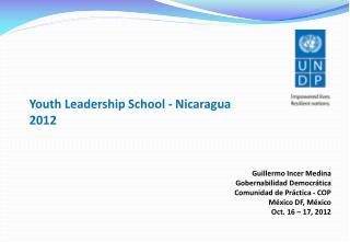 Youth Leadership School  - Nicaragua 2012