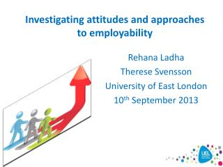 Investigating attitudes and approaches to employability