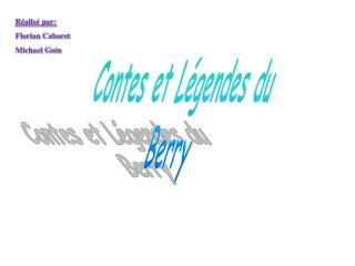 Contes et L gendes du  Berry