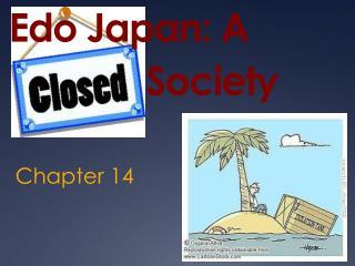 Edo Japan: A                 Society