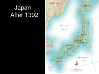 Japan   After 1392