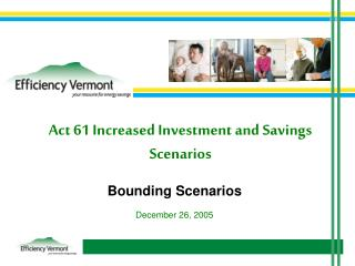 Act 61 Increased Investment and Savings Scenarios