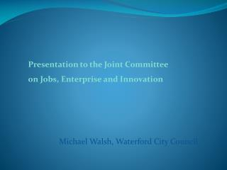 Michael Walsh, Waterford City Council