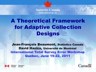 A Theoretical Framework for Adaptive Collection Designs