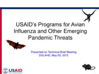 USAID's Programs for Avian Influenza and Other Emerging Pandemic Threats
