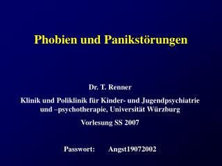 Phobien und Panikst�rungen