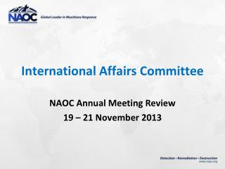 International Affairs Committee