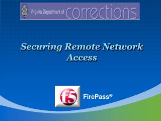 Securing Remote Network Access