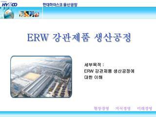 ERW  강관제품 생산공정