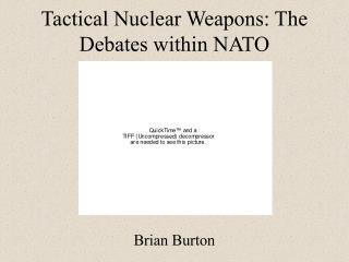 Tactical Nuclear Weapons: The Debates within NATO