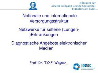 Nationale und internationale Versorgungsstruktur Netzwerke für seltene (Lungen-)Erkrankungen
