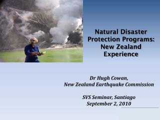 Natural Disaster Protection Programs: New Zealand Experience