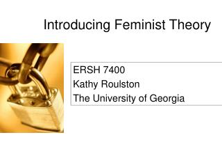 Introducing Feminist Theory